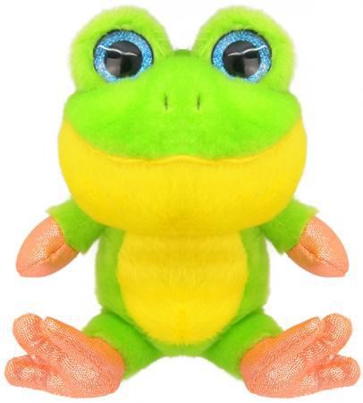 Мягкая игрушка Wild Planet Лягушонок 15 см зеленый искусственный мех K7852 георгиев с маленький зеленый лягушонок