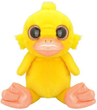 """Мягкая игрушка Wild Planet """"Утёнок"""" 30 см желтый искусственный мех текстиль K7877"""