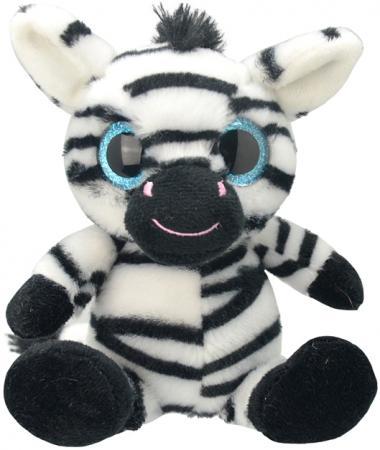 Мягкая игрушка Wild Planet Зебра 20 см искусственный мех текстиль K7873 мягкая игрушка собака orange чихуа kiki малиновый блеск текстиль искусственный мех розовый коричневый 25 см ld010