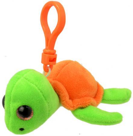 Мягкая игрушка черепаха Wild Planet Черепашка K8319 9 см оранжевый салатовый искусственный мех пласт
