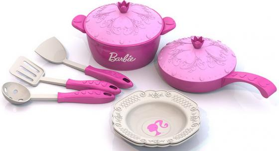 Набор посуды Нордпласт Барби нордпласт набор кухонной и чайной посудки барби 21 предмет нордпласт
