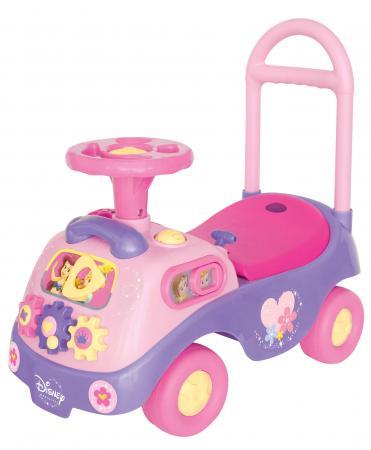 Каталка-пушкар Kiddieland Принцесса с шестеренками пластик от 1 года на колесах розовый каталка беговел rt самоделкин пластик от 1 года на колесах бирюзовый