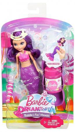 Кукла Mattel Barbie Мини русалочка с волшебными пузырьками в асс-те DVM97 mattel barbie dvm99 барби маленькие русалочки с пузырьками модная
