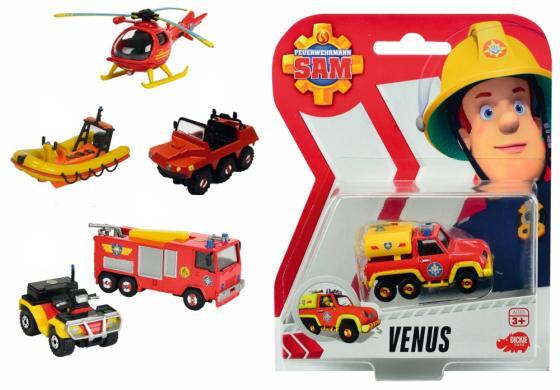 Игровой набор Dickie Пожарный Сэм 7.5 см красный 3099625 игровые наборы dickie игровой набор аэропорт