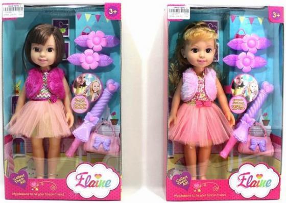 Кукла Shantou Gepai Лиза с аксессуарами 32 см в ассортименте цена