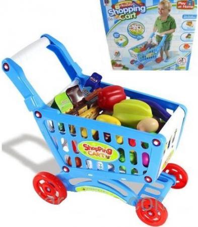 Игровой набор Shantou Gepai Тележка для покупок с продуктами 661-78 набор игровой для мальчика shantou gepai аэропорт cm557 2