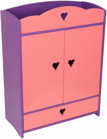 Набор мебели Краснокамская игрушка Шкафчик с выдвижным ящиком КМ-01 краснокамская игрушка мебель для кукол магазин с четырьмя ящичками