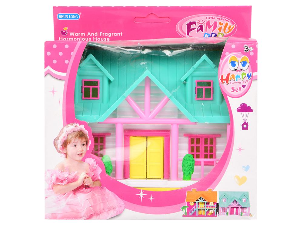 Дом для кукол Shantou Gepai Коттедж SL32524-2 в ассортименте замок для кукол shantou gepai my dreamy