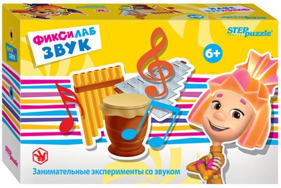 Развивающая игра Step Puzzle Фиксилаб - Звук 76165 lamaze музыкальная игра лев логан звук мелодия lamaze