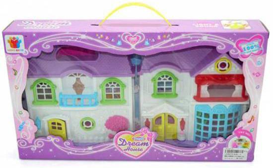 Дом для кукол Shantou Gepai Вилла мечты 8081-3 linvel lv 8081 6 1