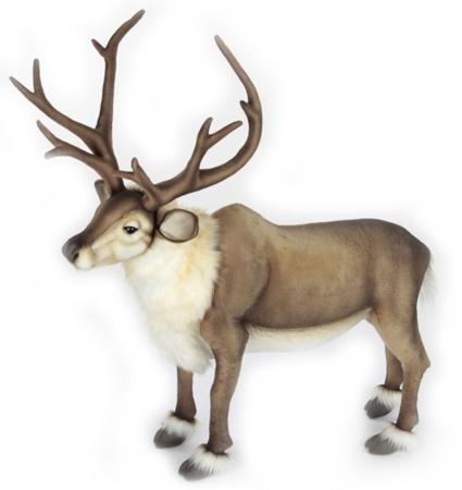 6860 Северный олень стоящий, 65 см зверь световой неон найт 45 см северный олень ленточкой 513 269