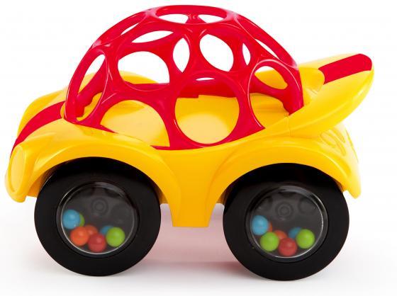 """Развивающая игрушка Oball """"Машинка"""", желтая"""