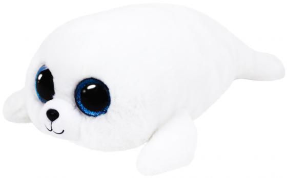 Мягкая игрушка TY Белый тюлень 15 см искусственный мех текстиль 36164 мягкая игрушка собака orange чихуа kiki малиновый блеск текстиль искусственный мех розовый коричневый 25 см ld010