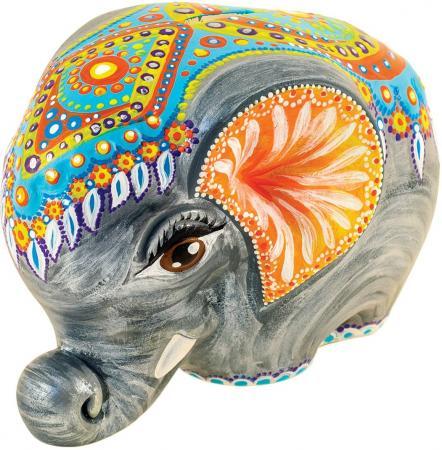 Набор для росписи по керамике FELICITA Копилка Слоник от 5 лет 282627b ziva zvo lbhc 2951