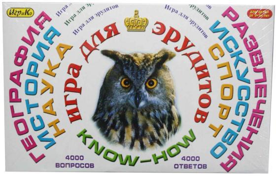 Фото Настольная игра для вечеринки ИгриКо Эрудит-игра для взрослых 8010.10
