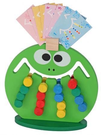 Купить Логическая игрушка Краснокамская игрушка ЛИ-01 Лягушка, КРАСНОКАМСКАЯ ИГРУШКА, Игрушки