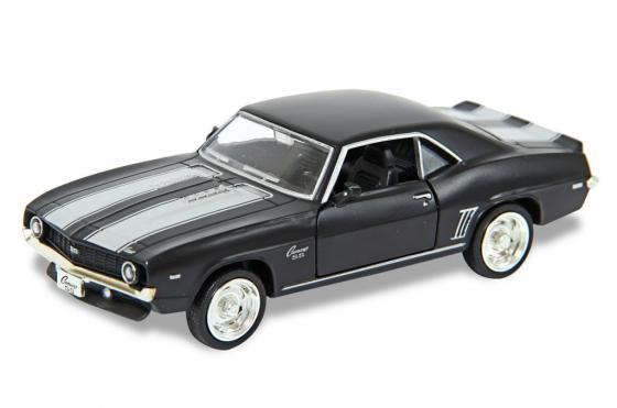Автомобиль Hoffmann Chevrolet Camaro SS 1:32 черный игрушка машина chevrolet camaro ss метал 1 32