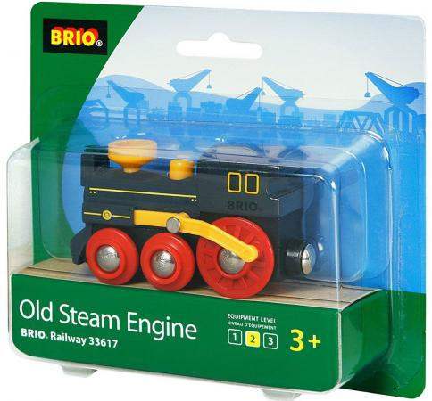 Паровоз Brio классика 33617