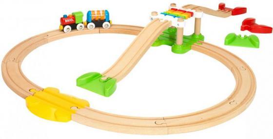 Железная дорога Brio Моя первая железная дорога с мостиком железные дороги brio железная дорога с автодорогой и переездом