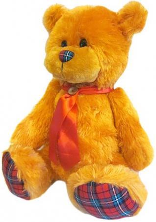 Мягкая игрушка медведь Волшебный мир Мишка Лапочка 45 см рыжий искусственный мех текстиль 7С-1413-Р мягкие игрушки волшебный мир игрушка мишка ирискин