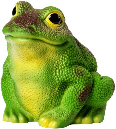 Резиновая игрушка для ванны Огонек жаба Жозефина 19 см С-733