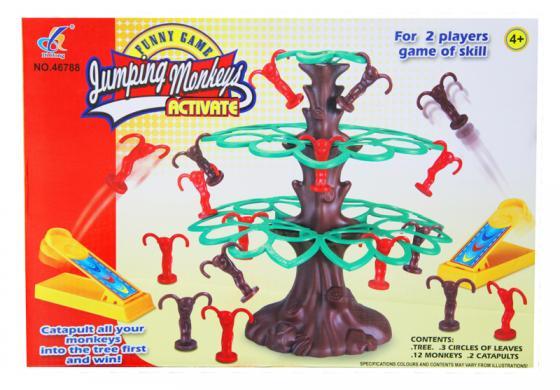 Настольная игра для вечеринки Shantou Gepai Веселые мартышки 631214 игры для малышей shantou gepai настольная игра мышиная охота