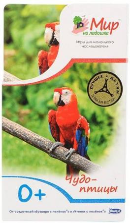 Развивающие карточки Умница Мир на ладошке Чудо птицы 0430