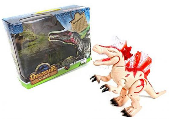 Интерактивная игрушка Shantou Gepai Dinosaur World от 3 лет бежевый свет, звук, 8804 игрушка good dinosaur 62006