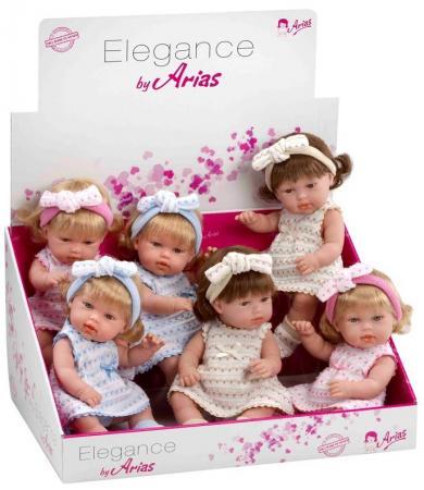 Arias ELEGANCE кукла винил.в платье,33см,6 в.,6 шт.в д-боксе,бирка кукла yako m6579 6
