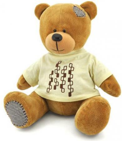 Мягкая игрушка медведь ORANGE Медведь Топтыжкин 20 см искусственный мех в ассортиментре МА1981/20 мягкая игрушка собака orange чихуа kiki малиновый блеск текстиль искусственный мех розовый коричневый 25 см ld010