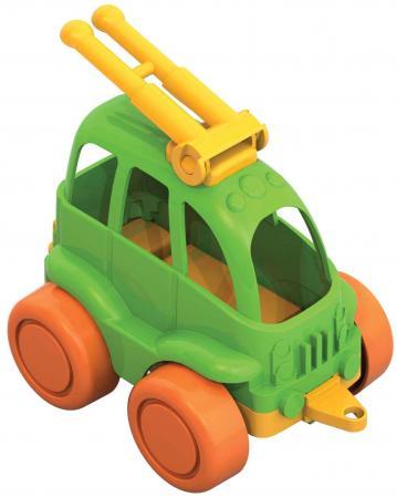 Троллейбус Нордпласт Нордик цвет в ассортименте 4607006444768 набор машинок игрушечных нордпласт строительная техника нордик