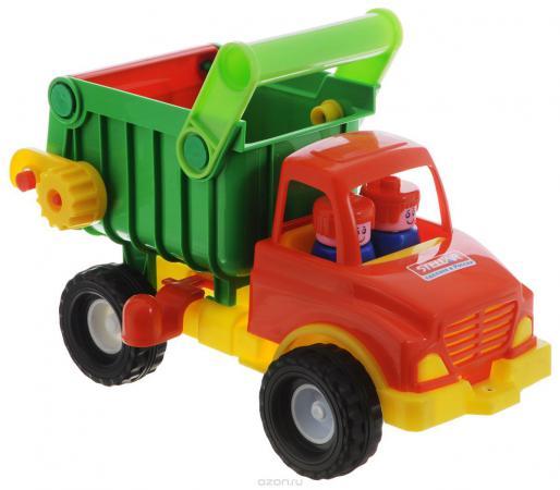 Грузовик Стеллар самосвал красный/зеленый 1401 грузовик самосвал battat 68023
