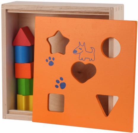 Логическая игрушка КРАСНОКАМСКАЯ ИГРУШКА Сортировщик Н-05 краснокамская игрушка мебель для кукол магазин с четырьмя ящичками