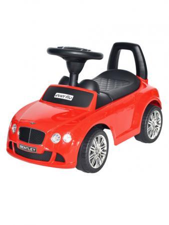 Детская Каталка EVERFLO Bentley Continental GT Speed EC-626 красный autotime модель автомобиля bentley continental gt v8 цвет черный