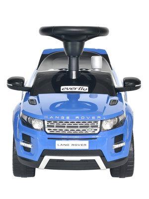 Детская Каталка EVERFLO RANGE ROVER EVOQUE EC-648 синий каталка машинка everflo range rover evoque ec 648 пластик от 1 года на колесах синий