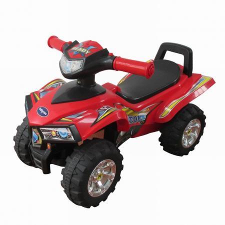 Baby Care, Каталка детская Super ATV красный (Red) новая деревянная детская игрушка froebel gabe10 baby educational toy baby gifts