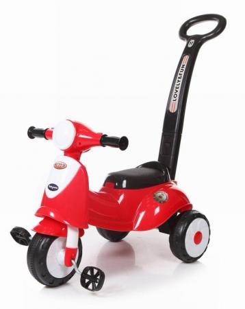 Baby Care, Каталка детская Smart Trike Красный (Red) эргорюкзак baby care hs 3183 pink