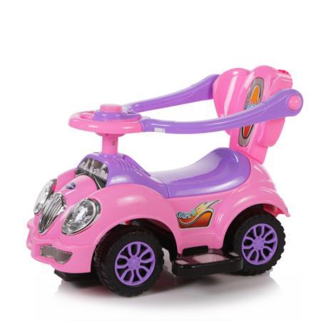 Baby care, каталка детская cute car розовый (pink)