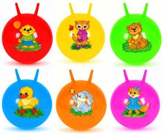 Мяч-попрыгун Наша Игрушка Мяч-попрыгунчик пластик от 3 лет разноцветный 63795 мяч
