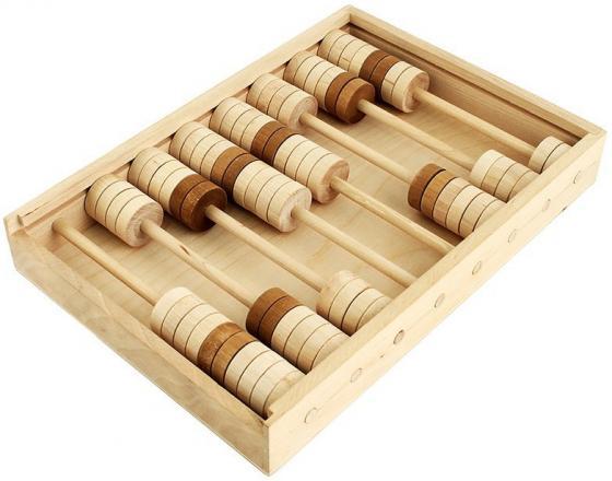 Развивающая игрушка Пелси Счеты детские деревянные И682 детские образовательные деревянные традиционные mikado spiel pick up sticks с коробкой игры