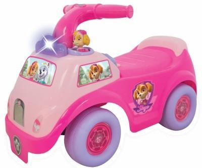 Каталка-пушкар Kiddieland Гонщик-спасатель Скай пластик от 1 года со звуком розовый clothing loves режим 1