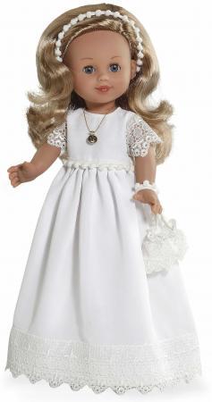 Arias ELEGANCE винил. кукла 42 см., в платье, с аксессуаром, в кор. с окошком 25,5*13,5*47,5 см. кукла arias elegance elian 42 см плачущая т59786