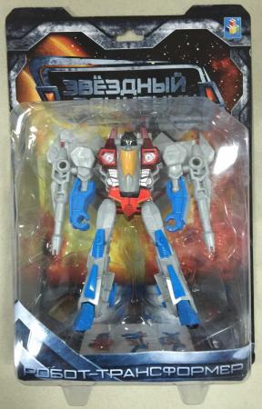 1toy Звёздный защитник, робот-трансформер, собирается в истребитель, блистер, 1toy робот трансформер звездный защитник самолет