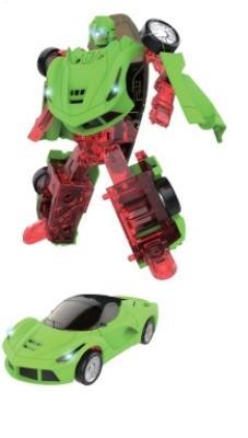 1toy Transcar mini, робот-трансформер, металлический собирается в спорткар, блистер 1toy звёздный защитник робот трансформер собирается в истребитель блистер