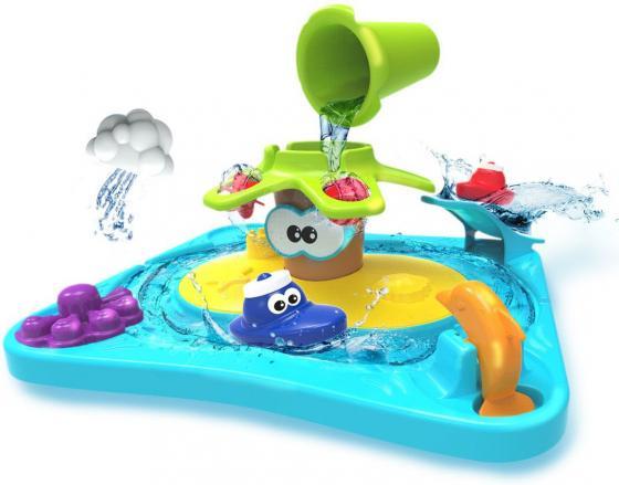 1toy Kidz Delight Игрушка для ванны Островок приключений, 36*12*31см, кор.