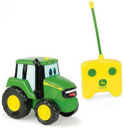 Tomy John Deere трактор Джонни на р/у с пультом,15х28х11см,кор. машины tomy трактор john deere 6830