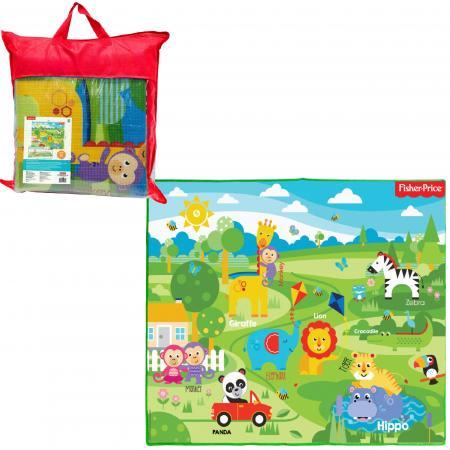 Купить 1toy FISHER PRICE коврик игровой для малышей EPE средний 150х180х0, 5 см, в сумке, Игрушки