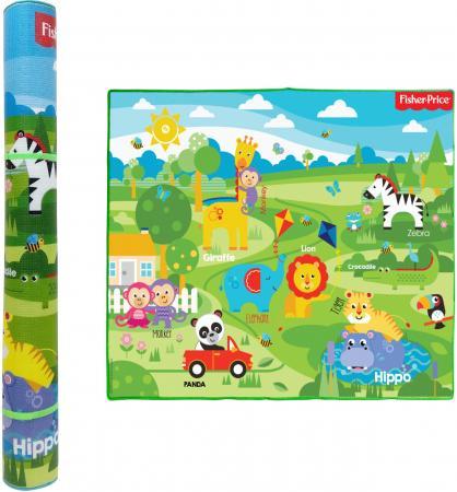 Купить 1toy FISHER PRICE коврик игровой для малышей EPE средний 150х180х1 см, тубус, Игрушки