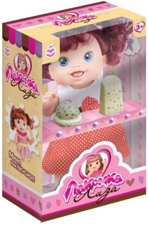 1toy кукла с мороженым (2шт.)Лакомка Лиза 36см,красноволосая с хвостиками,кор.