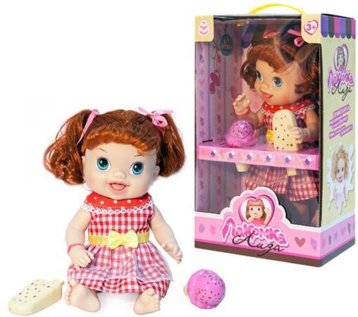 1toy кукла с мороженым (2шт.)Лакомка Лиза 36см,рыжая с хвостиками,кор.